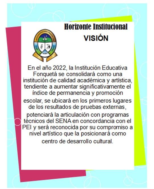 visión colegio